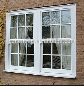 Pvc window white upvc sliding windows 289 295 for Casas con ventanas de aluminio blanco
