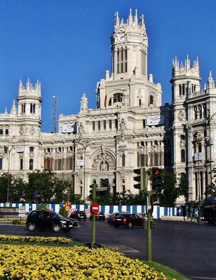 Madrid Palacio De Cibeles Madrid Spain Spain Madrid