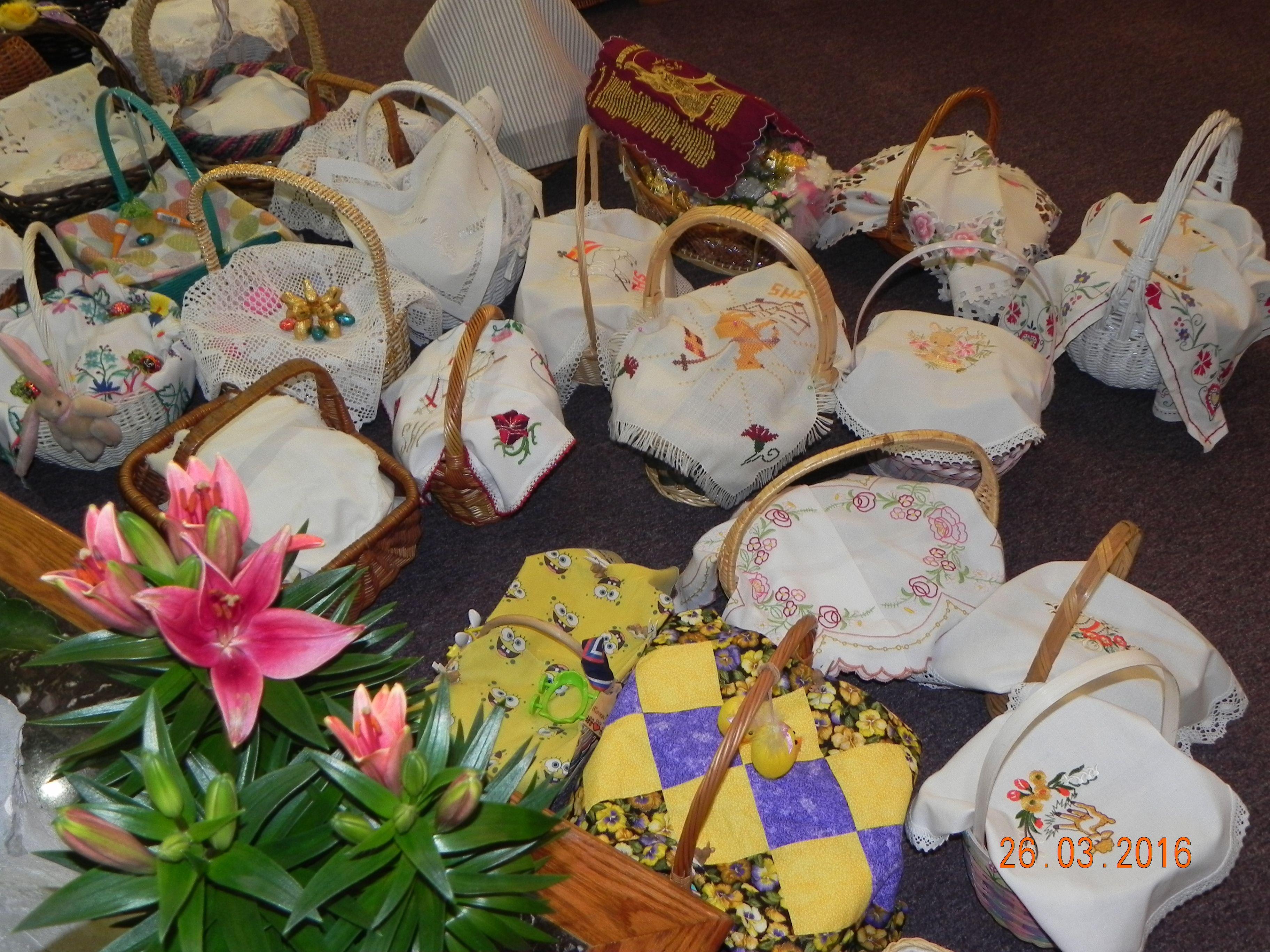 Beautyful Easter baskets