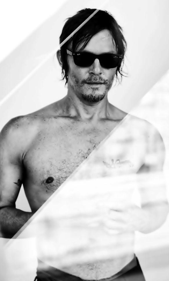 Norman Reedus Aka Daryl From The Walking Dead Daryl Dixon