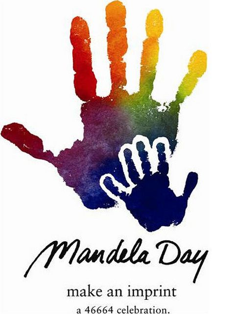 Mandela Day Awesome Love It South Africa Nelson Mandela Hand