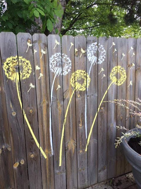 Dandelion Stencil Beautiful Stencils For Walls Crafts Fabric And