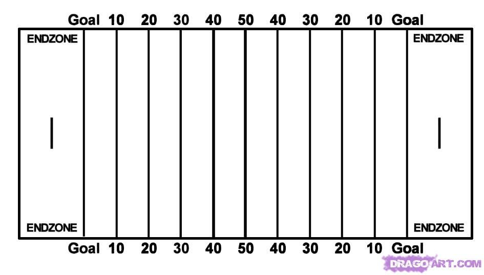 blank football field diagram reading pinterest football rh pinterest com Football Clip Art Black and White Black and White Football Game