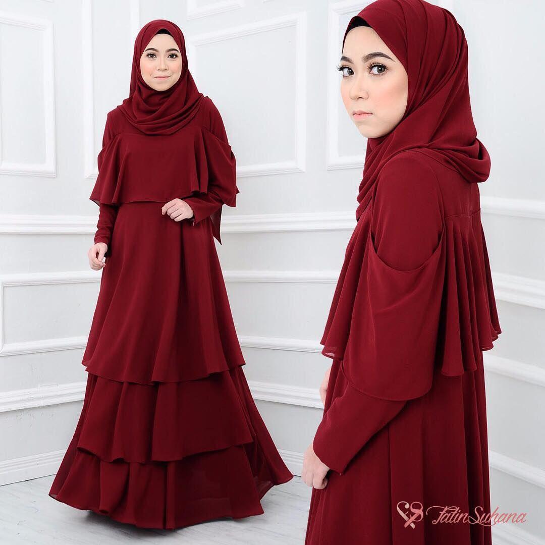 Baju Warna Maroon