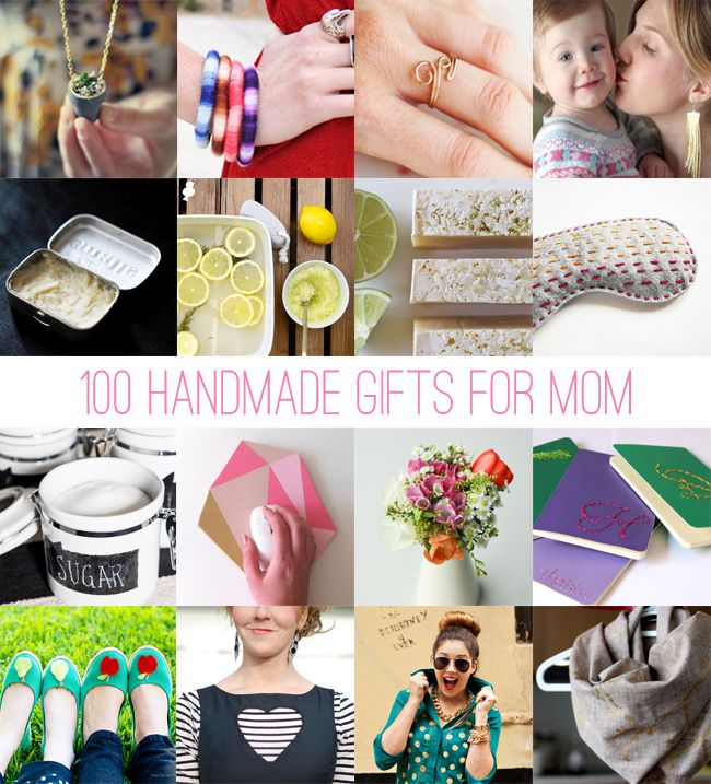100 Handmade Gifts For Mom If You Are Looking For