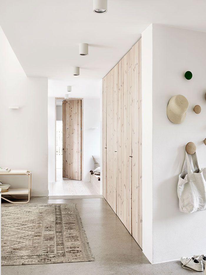 Beautiful and Harmonious Scandinavian Home in Natural Shades
