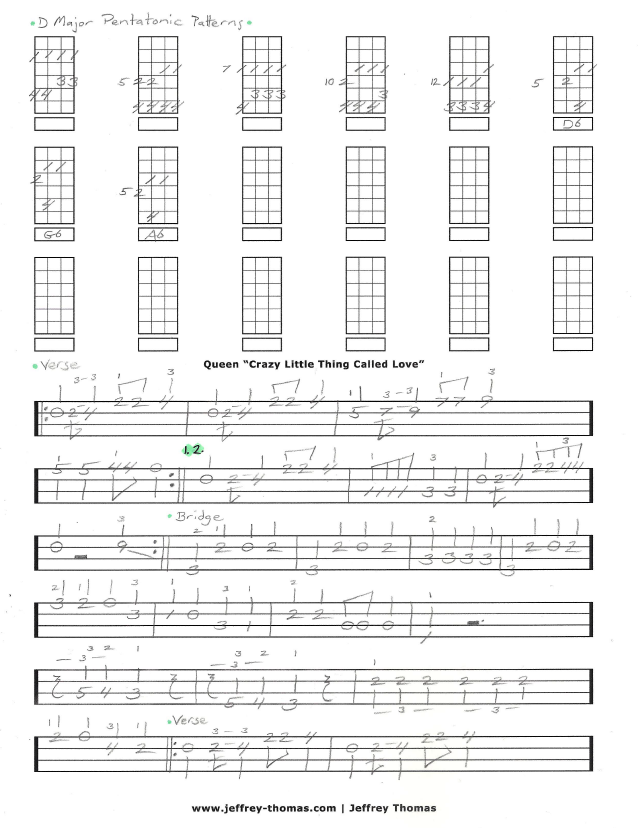 Learn To Play Crazy Little Thing Called Love By Queen On Bass I