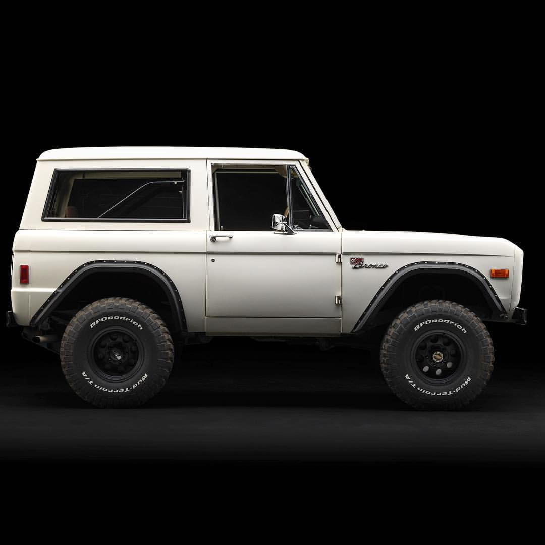 Coming Soon Anyone Looking For A White Bronco With Black