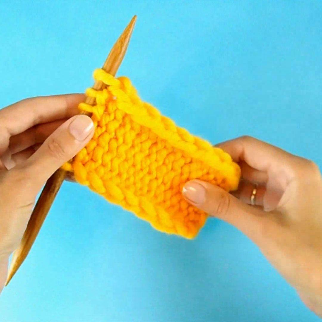 Nice Side Edges For Any Knitting Stitch Knittingtutorials - Knitting Tutorial