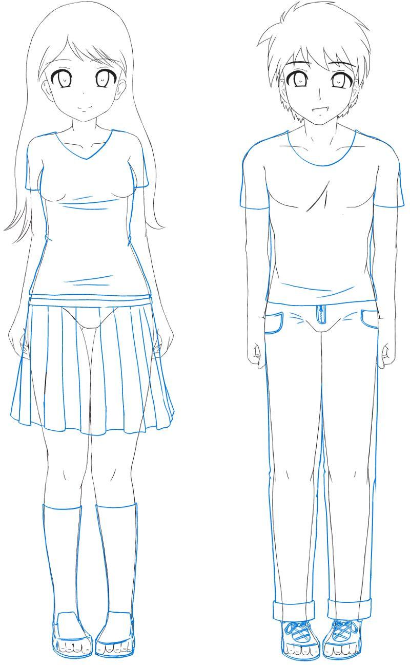 Sekai 39 s blog apprendre dessiner manga tutoriel manga - Fille manga a dessiner ...