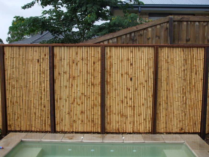 37 Best Bamboo Fencing Images On Pinterest | Bamboo Fencing, Fence Panels  And Terrace