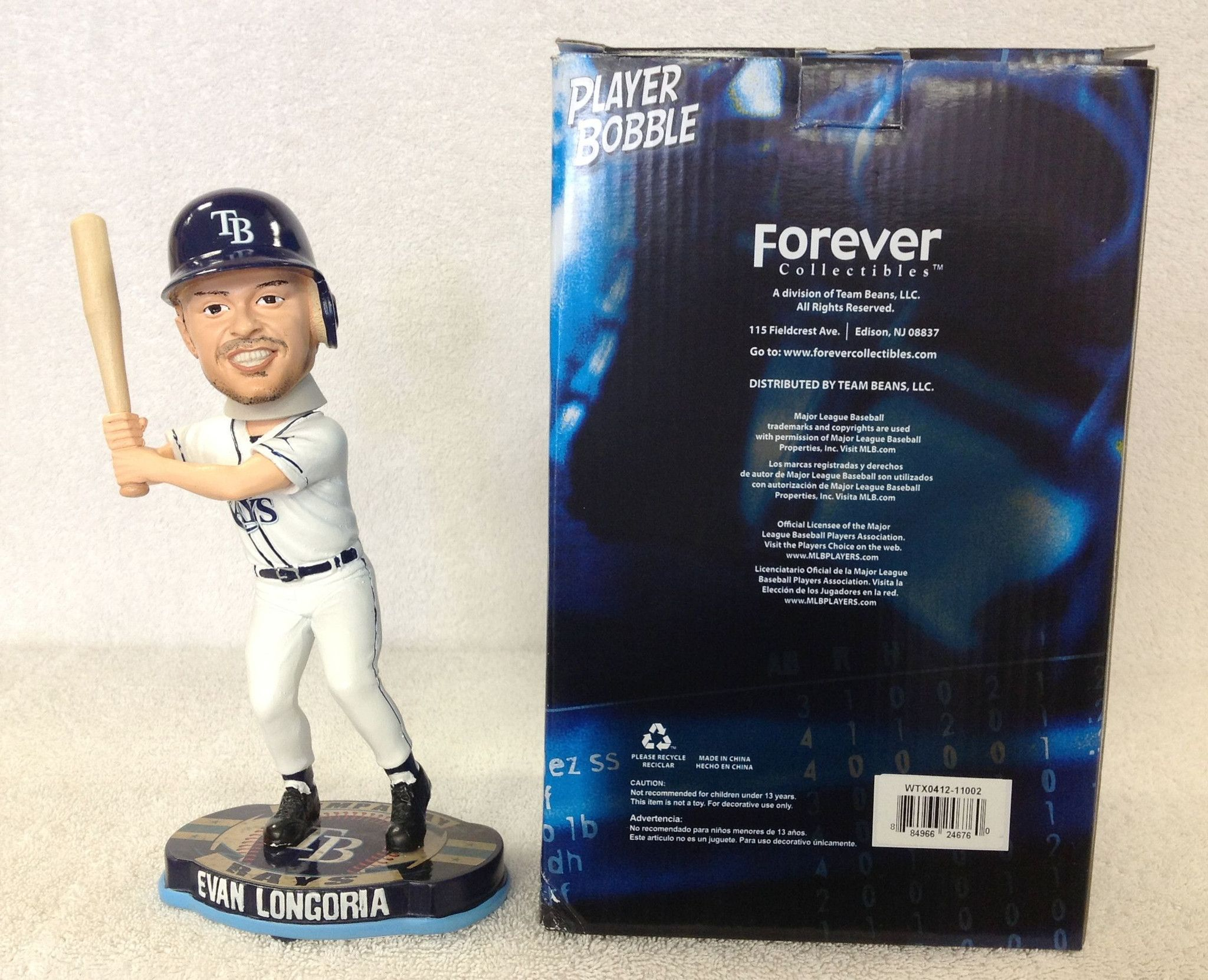 Evan Longoria Bobblehead Products