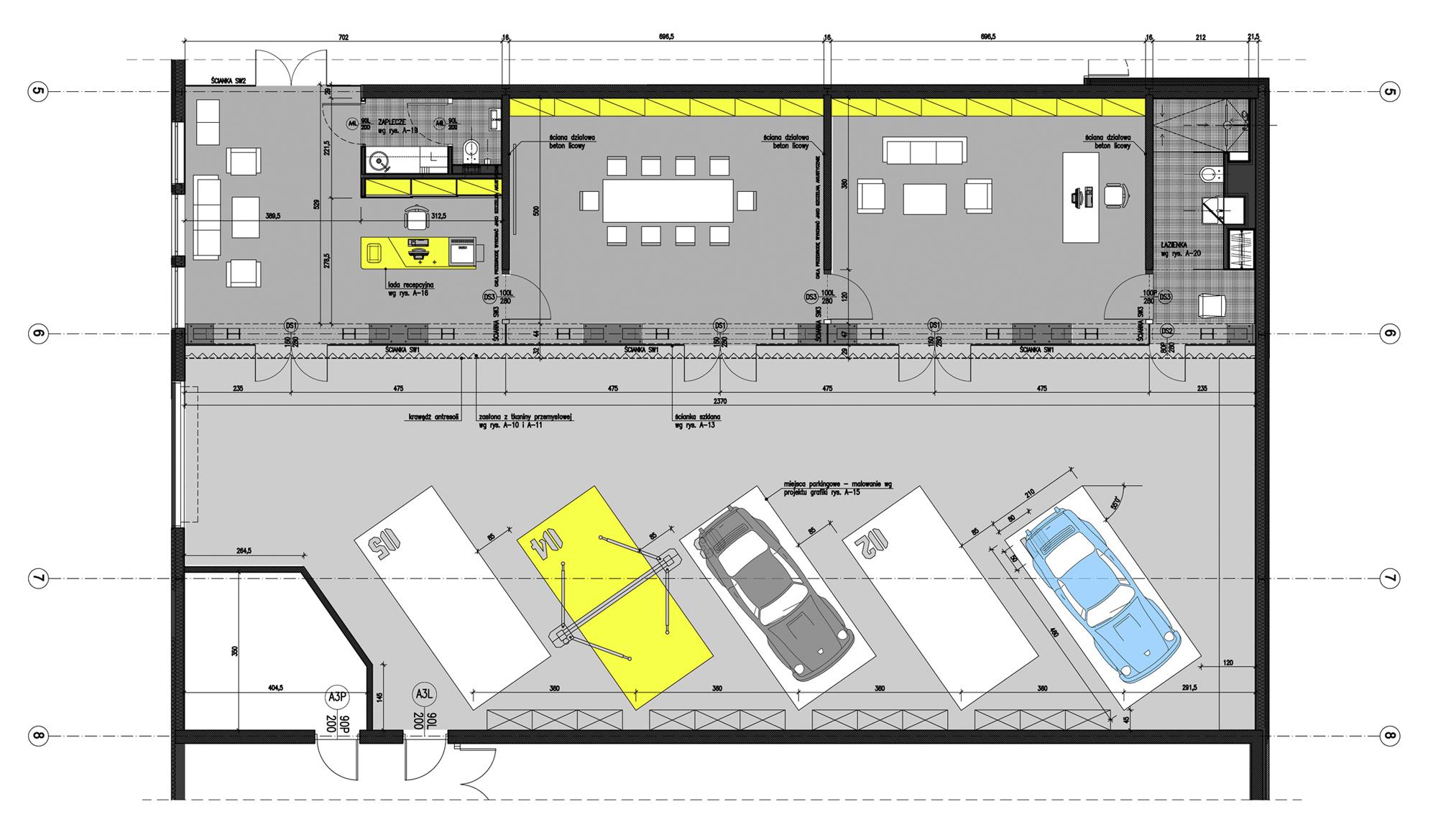 Technical Office Garage By Ultra Architects 19 Garage Design Garage Floor Plans Garage Decor