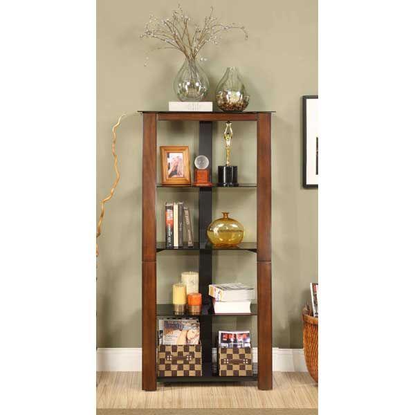 American Furniture Warehouse    Virtual Store    ZT3060BK ZT3060BK Zeta  Bookcase Golden Oak,