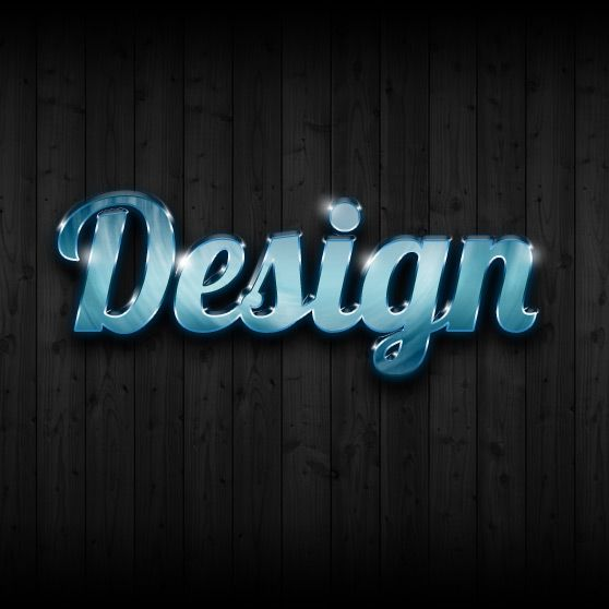 ultra glossy text effect in photoshop