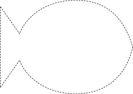 Luscious image with regard to free printable fish template