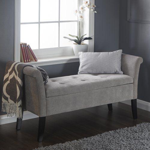 Andesine Upholstered Storage Bedroom Bench In 2019 Window