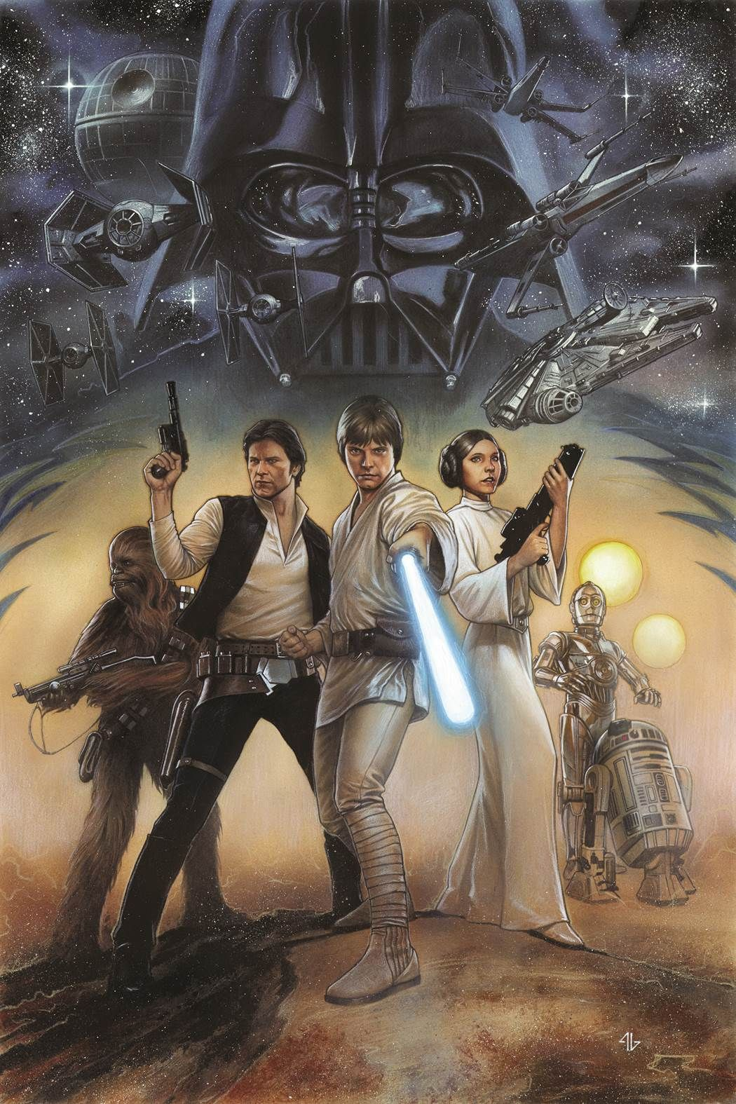 New York, NY – December 16, 2014 – Next year, the original Marvel Comic adaptations of the iconic Star Wars trilogy return for new, oversized graphic novels with remastered coloring! It all starts ...