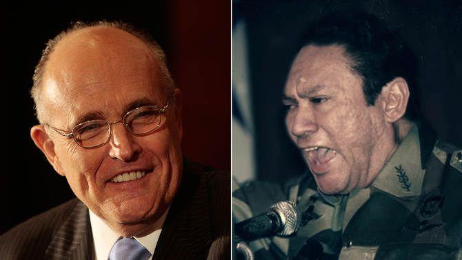 Rudy Giuliani And Manuel Noriega Gaming Pinterest Rudy Giuliani