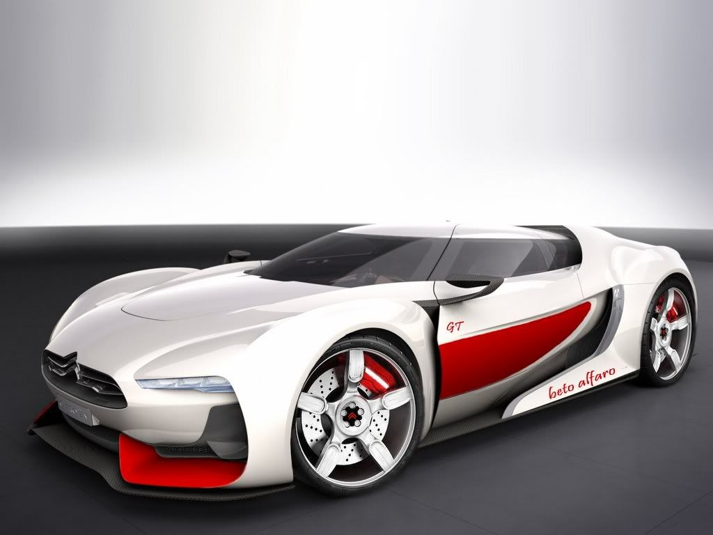 The Futuristic Sporty Citroen GT Concept Is A Sports Car That Debuted As A  Concept Car On 2 October At 2008 Paris Motor Show.