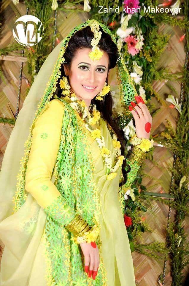 Bangladeshi brideholud ceremony attirezahid khan makeover