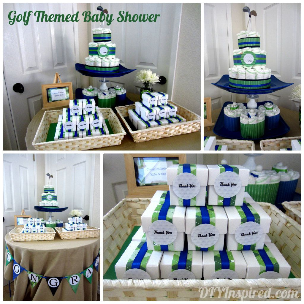 Golf Themed Baby Shower | Golf baby showers, Golf baby and Golf