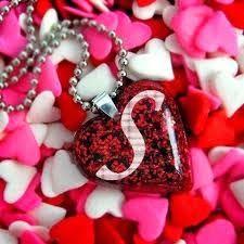 اجمل صور حروف انجليزية مزخرفة 2015 صور حروف حب 2 Red Heart Necklace Love Gifts For Her Heart Shaped Pendant Necklace