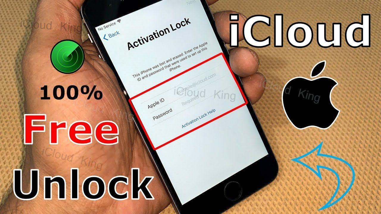 Free unlock for all models iphone icloud activation lock