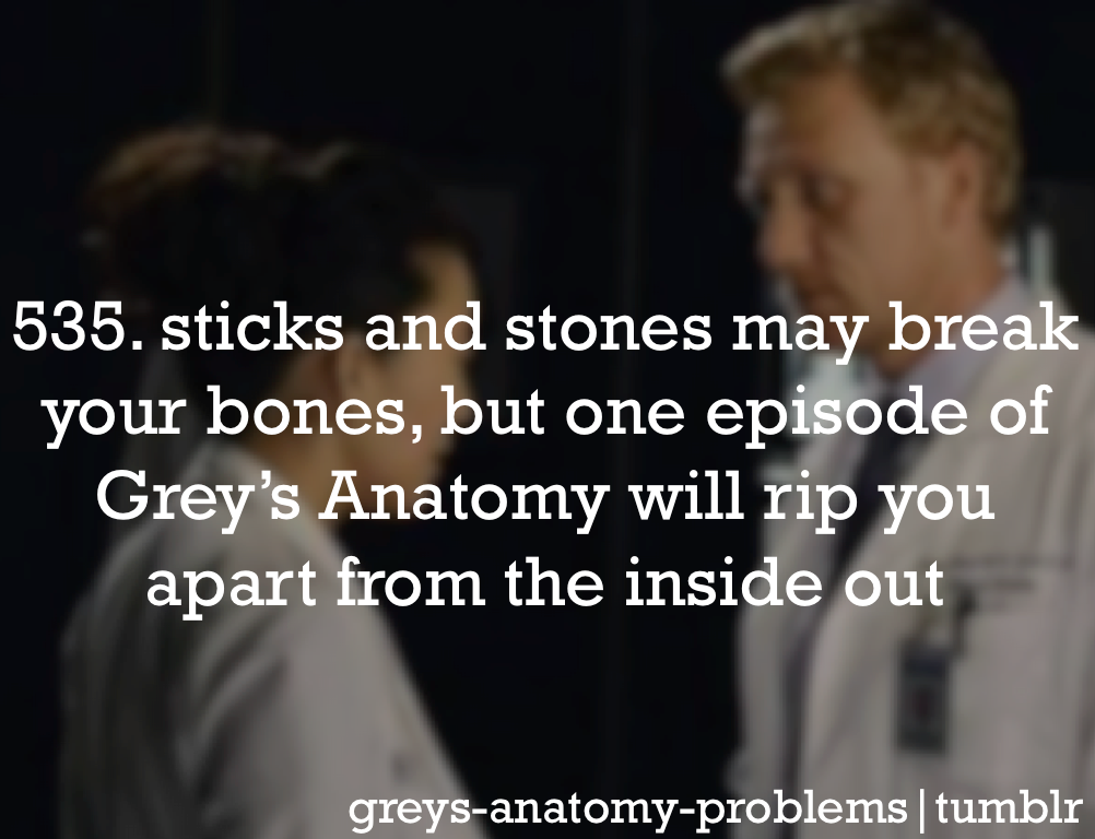 Grey\'s Anatomy Problems | Funny | Pinterest