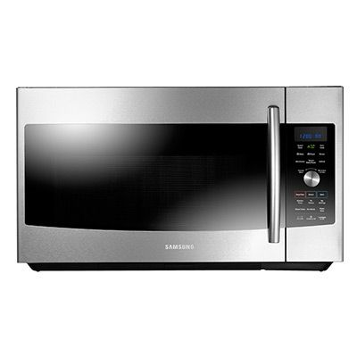 1 7 Cu Ft Over The Range Convection Microwave Range Microwave Convection Microwaves Samsung Microwave