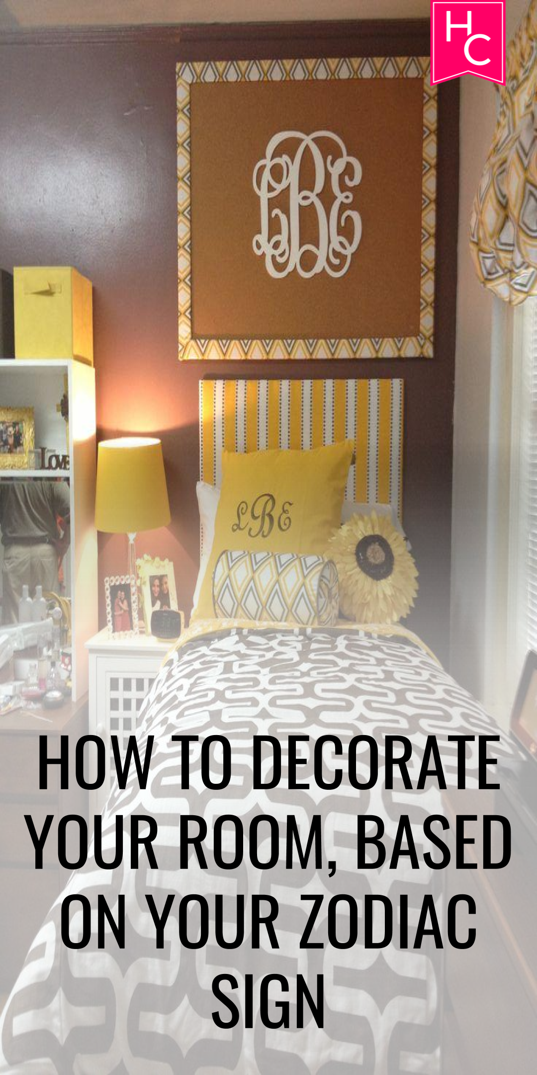 How To Decorate Your Home With Personality: How To Decorate Your Dorm Room, Based On Your Zodiac Sign