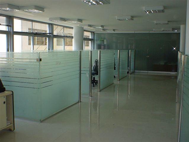 Argos compa a de seguros tabique divisorio de cristal for Tabiques divisorios para oficinas