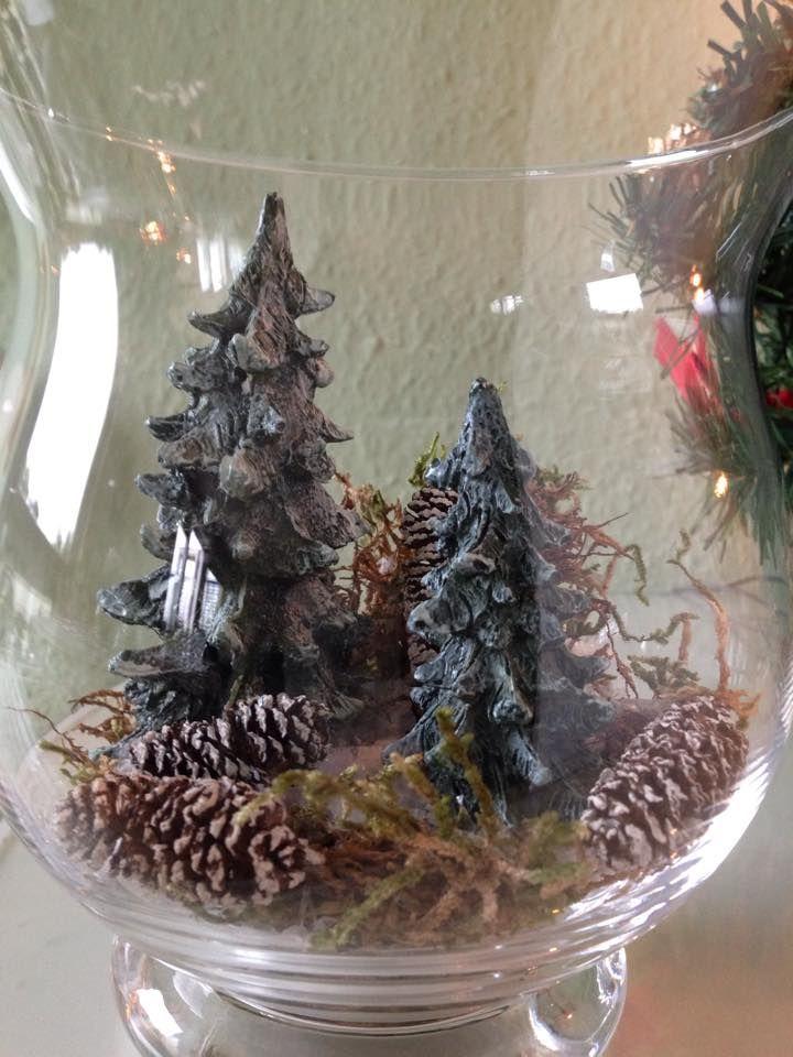 Wald Im Glas Deko Im Glas Weihnachtsdeko Advent Deko