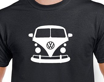 vw bus t shirt graphic volkswagen microbus tee tshirt is. Black Bedroom Furniture Sets. Home Design Ideas