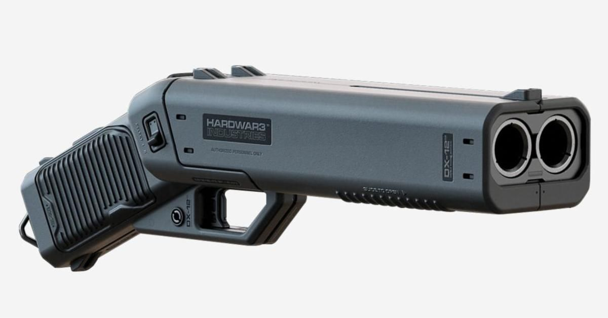 The Dx 12 Punisher Is A Double Barreled Shotgun Pistol