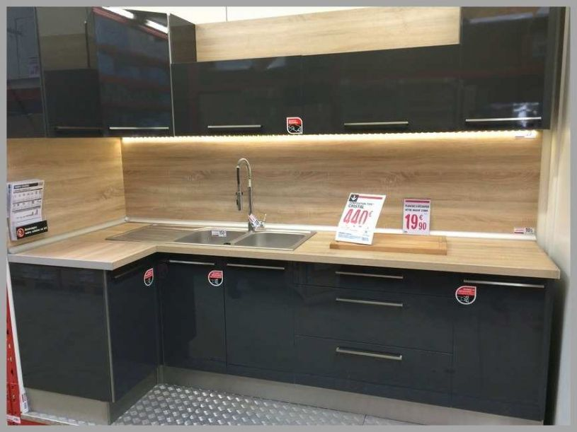 Meuble D Amp 039 Angle Cuisine Brico Depot Lille Menage Fr Maison Intended For 20 Superbe Collection De Brico Depot Cuisine
