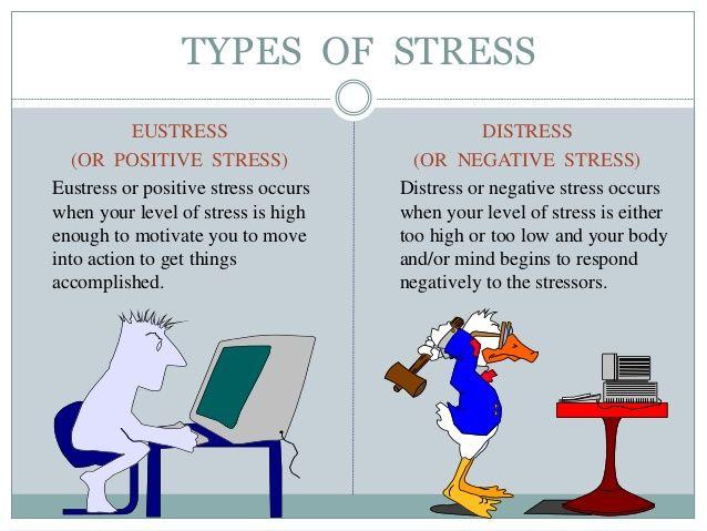 Stress distress eustress