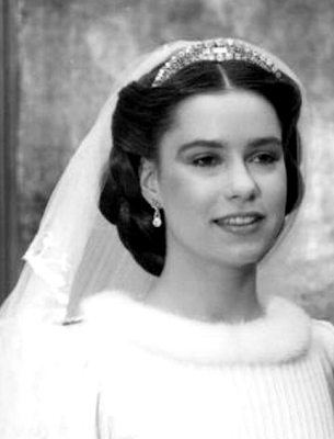 THE BRIDE H.R.H. Grand Duchess Maria Teresa of Luxembourg, née Maestre Batista