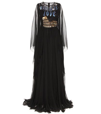 Dolce & Gabbana Embellished Silk Gown | MYTHERESA USA saved by #ShoppingIS