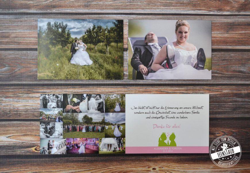 Froschkonig Feenstaub At Dankeskarten Danke Karte Karte Hochzeit