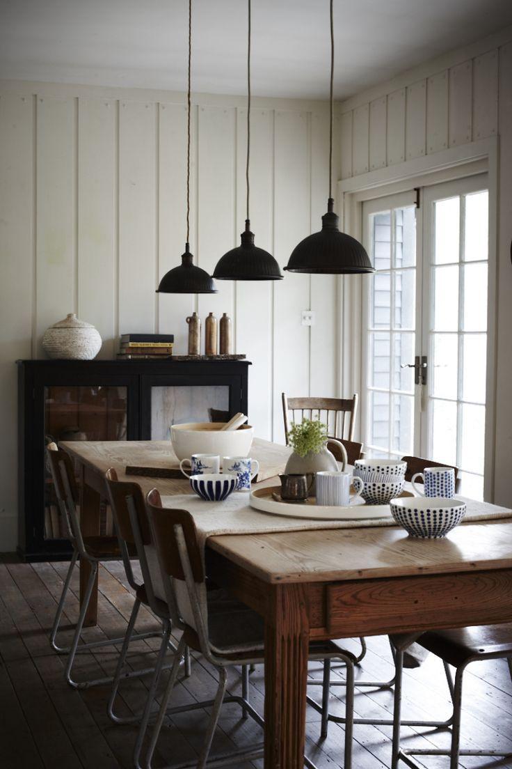 joanna henderson   Farmhouse dining room lighting, Modern ...