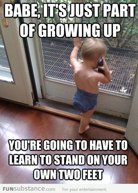 Tough Love Baby Funsubstance Funny Baby Memes Funny Babies Baby Memes