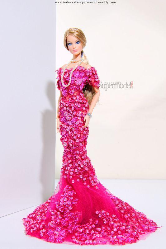 Kim kardashian, raquelle barbie   Barbie Dolls (Mermaid Facemold ...
