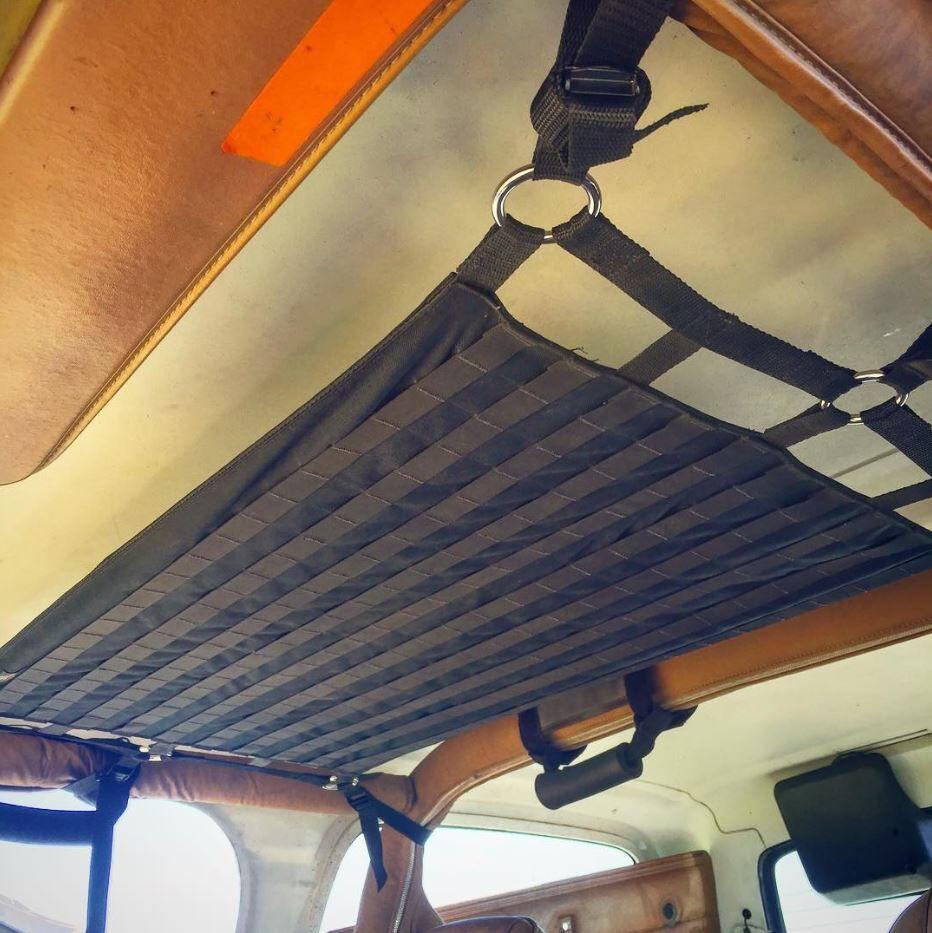 Jeep Wrangler Storage Cargo Storage Custom Net Holding Ceiling