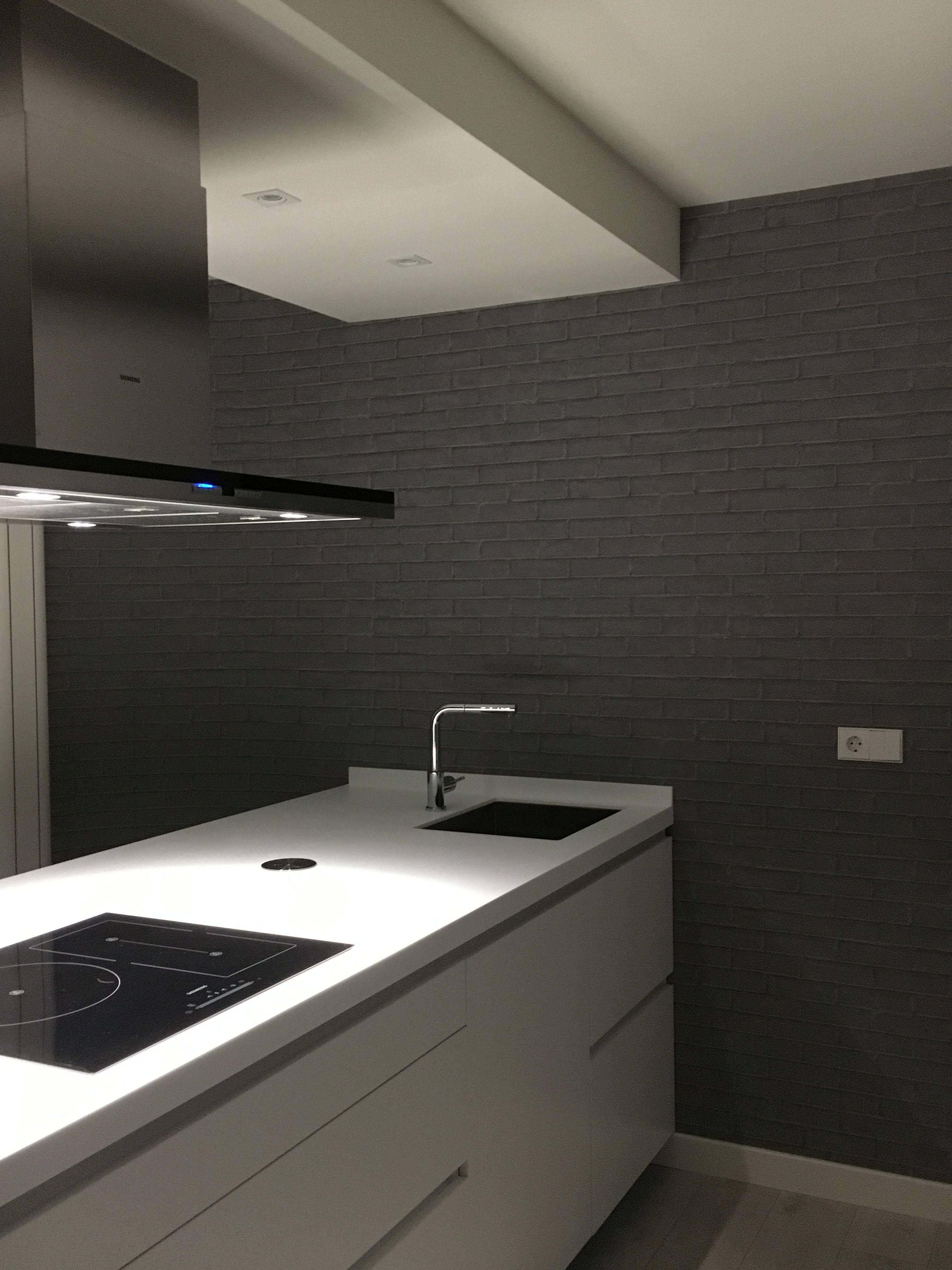Pintar encimera cocina trendy diseo de cocinas ventana for Pintar encimera granito