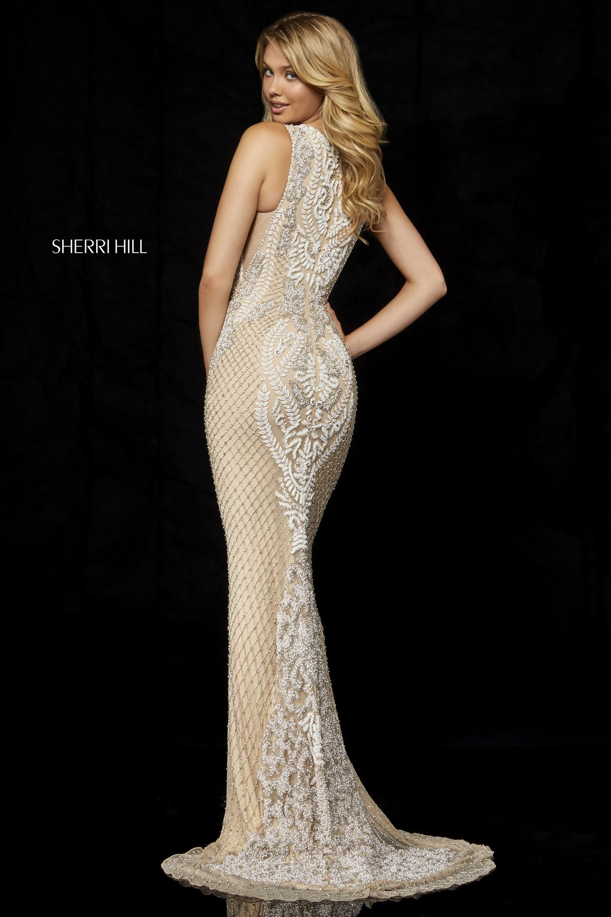 087b163abb7c Style #52369 – Sherri Hill | Fall 2018 Collection in 2019 | Formal ...