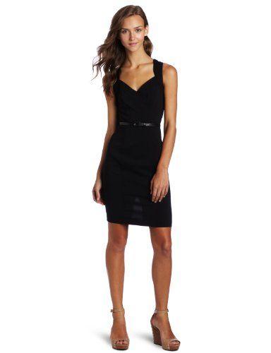 Xoxo Juniors Black Sheath Suiting Dress Black 5 6 Dresses