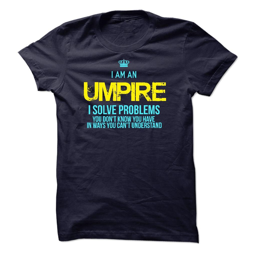 #Funnytshirts... Nice T-shirts  Price: $23.00Buy Now    Low cost Codes   View pictures & pictures of I am a Umpire t-shirts & hoodies:Should you do not completely love our design, you possibly can SEARCH your favourite one through the use of search bar on the h...
