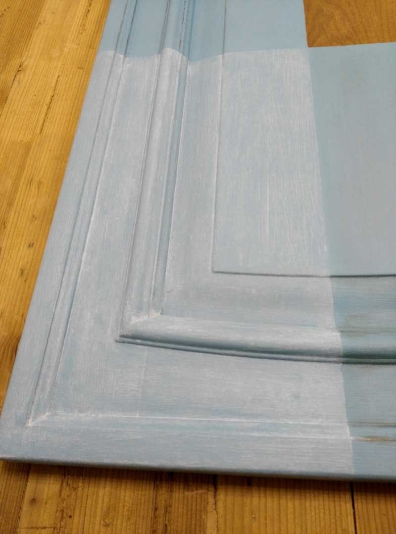 verniciare le ante di una cucina con la vintage paint Rinnova la ...