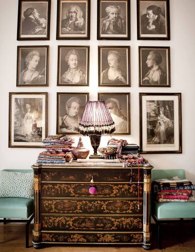 The New York home of jewelry designer Emilie Jean -- Photograph by Jesus Ayala/Studio D